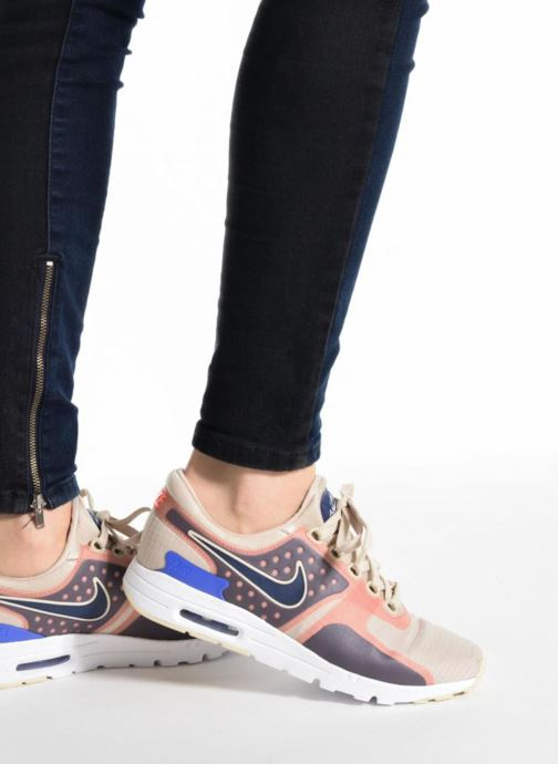 Trainers Nike W Air Max Zero Si Blue view from underneath / model view