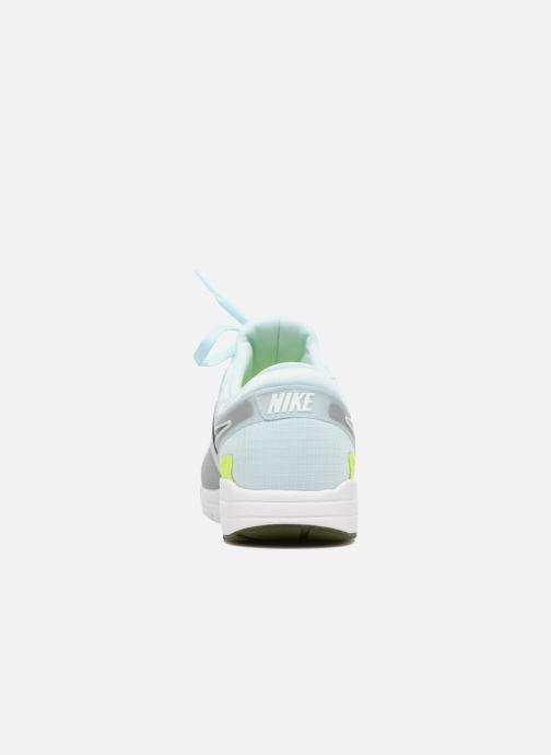 Deportivas Nike W Air Max Zero Si Azul vista lateral derecha