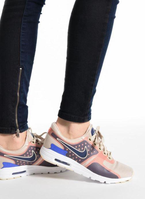 Baskets Nike W Air Max Zero Si Beige vue bas / vue portée sac