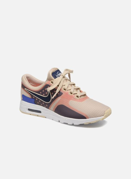 super popular 933c6 b4df7 Baskets Nike W Air Max Zero Si Beige vue détail paire