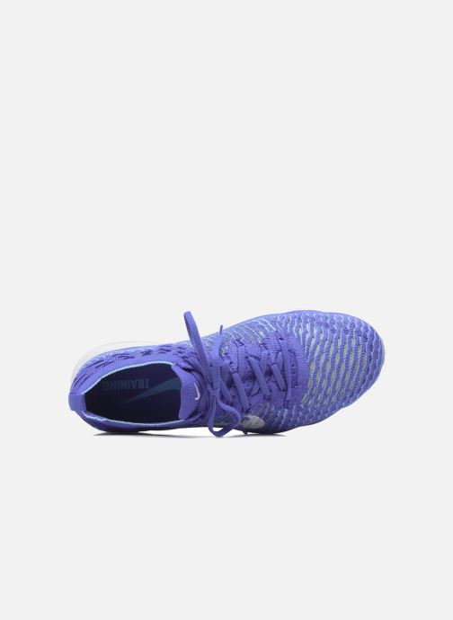 Sport shoes Nike W Air Zoom Fearless Flyknit Blue view from the left