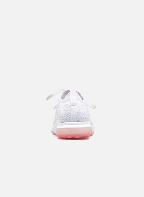 Zapatillas de deporte Nike W Air Zoom Fearless Flyknit Blanco vista lateral derecha