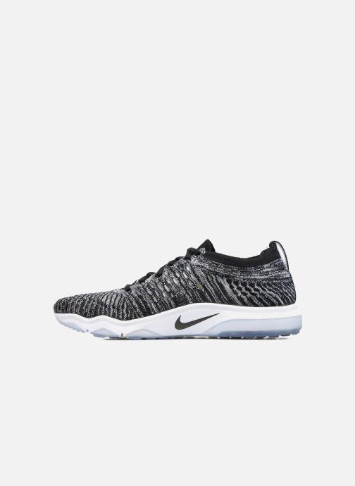 Scarpe sportive Nike W Air Zoom Fearless Flyknit Grigio immagine frontale