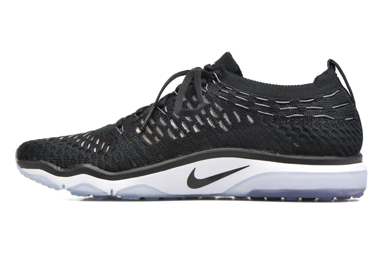 Sportssko Nike W Air Zoom Fearless Flyknit Sort se forfra