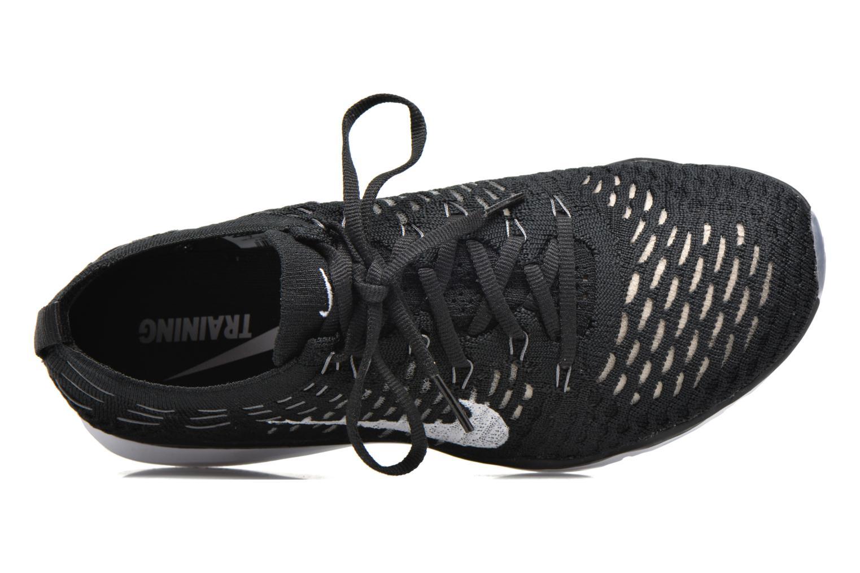 Sportssko Nike W Air Zoom Fearless Flyknit Sort se fra venstre