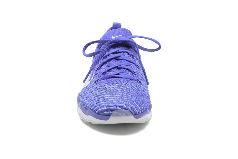 Zapatillas de deporte Nike W Air Zoom Fearless Flyknit Azul vista del modelo