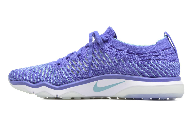Zapatillas de deporte Nike W Air Zoom Fearless Flyknit Azul vista de frente