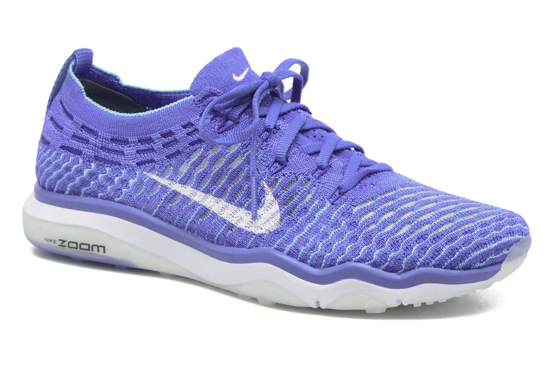Zapatillas de deporte Nike W Air Zoom Fearless Flyknit Azul vista de detalle / par
