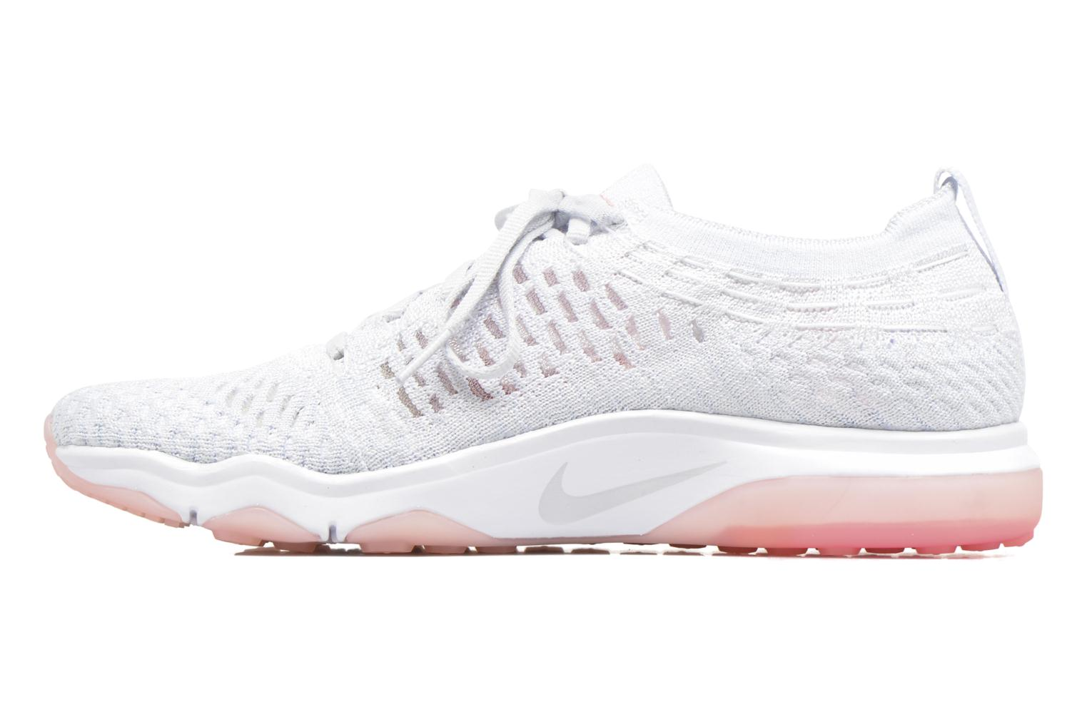 Sport shoes Nike W Air Zoom Fearless Flyknit White front view