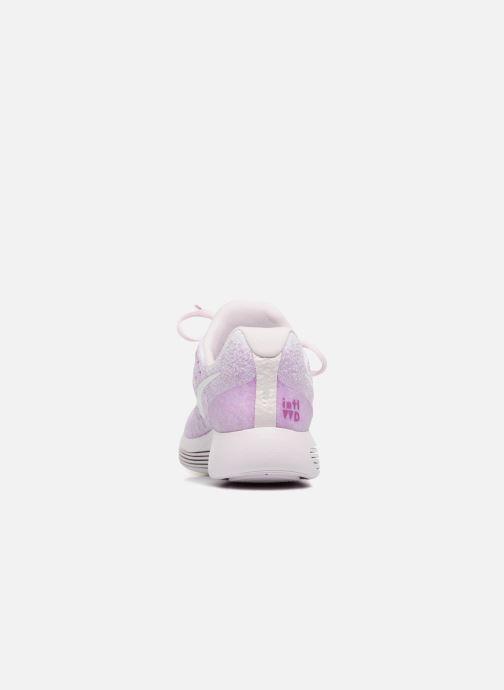 Zapatillas de deporte Nike W Lunarepic Low Flyknit 2 Iwd Violeta      vista lateral derecha