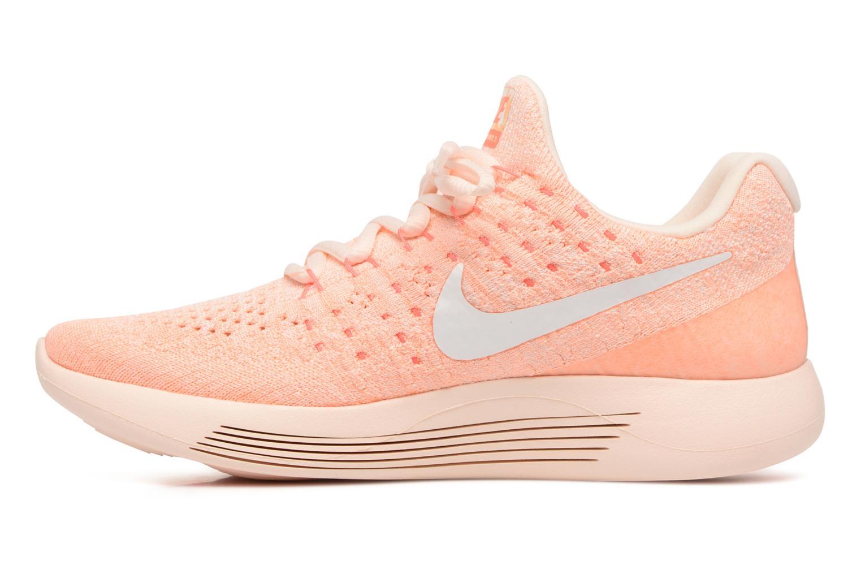 Sportschuhe Nike W Lunarepic Low Flyknit 2 Iwd orange ansicht von vorne