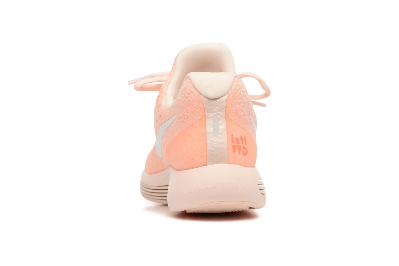 Sportschuhe Nike W Lunarepic Low Flyknit 2 Iwd orange ansicht von rechts