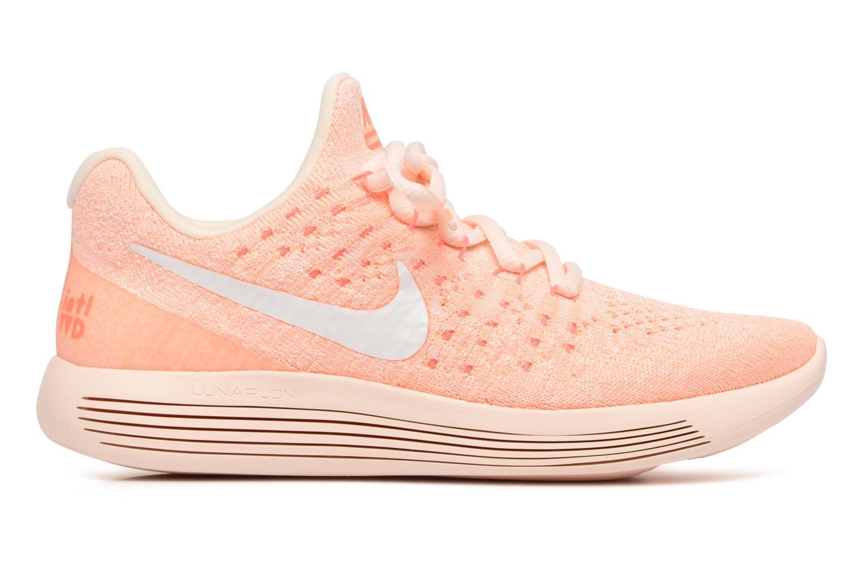 Sportschuhe Nike W Lunarepic Low Flyknit 2 Iwd orange ansicht von hinten