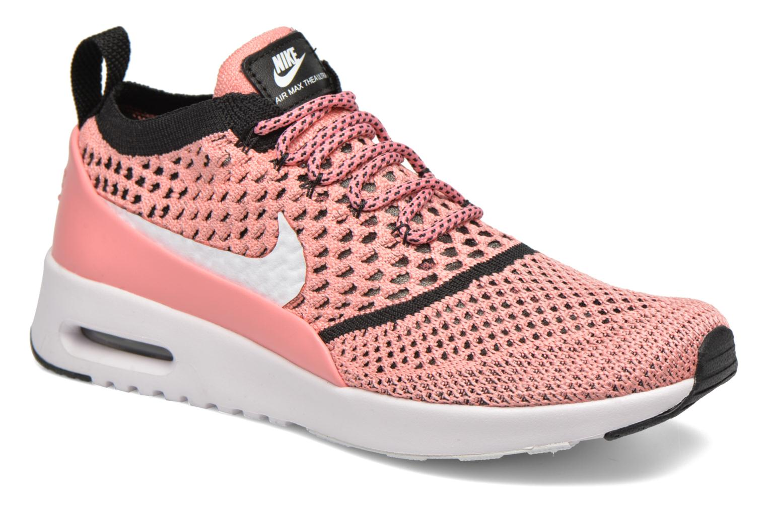 6aa65dbef18a98 ... sweden trainers nike w nike air max thea ultra fk pink detailed view  pair view f6f90 ...