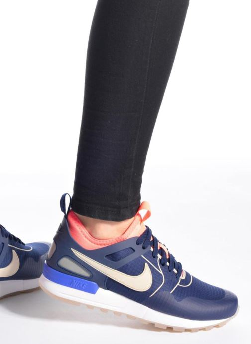 Trainers Nike W Nike Air Pegasus 89 Tech Si Blue view from underneath / model view