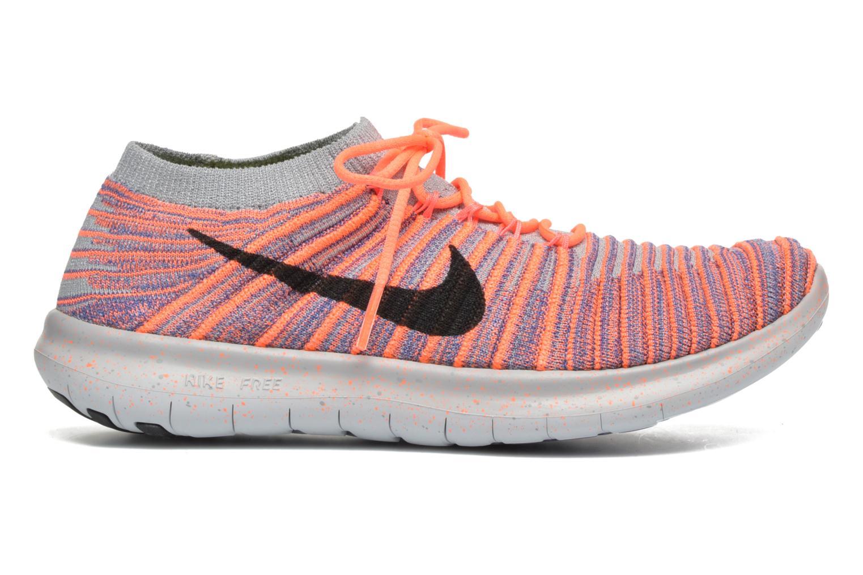 Chaussures de sport Nike W Nike Free Rn Motion Flyknit Gris vue derrière