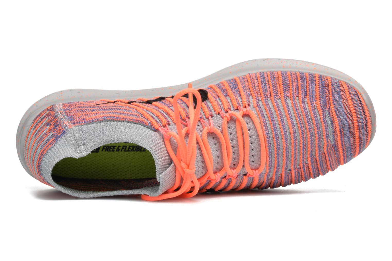 Chaussures de sport Nike W Nike Free Rn Motion Flyknit Gris vue gauche