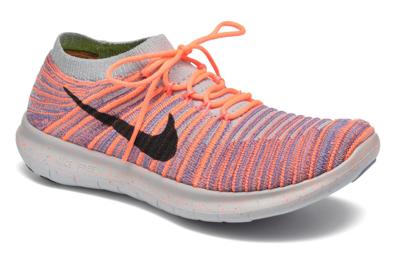 Chaussures de sport Nike W Nike Free Rn Motion Flyknit Gris vue détail/paire
