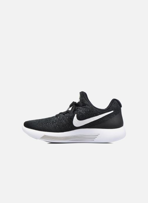 Chaussures de sport Nike W Nike Lunarepic Low Flyknit 2 Noir vue face