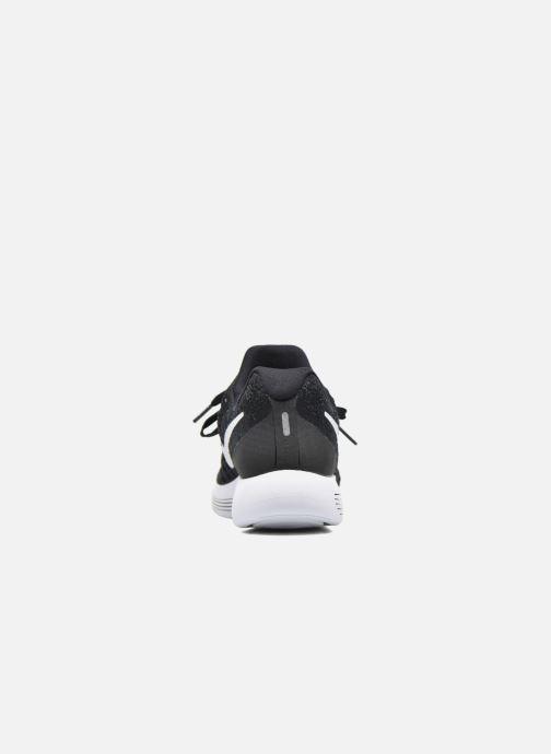 Zapatillas de deporte Nike W Nike Lunarepic Low Flyknit 2 Negro vista lateral derecha