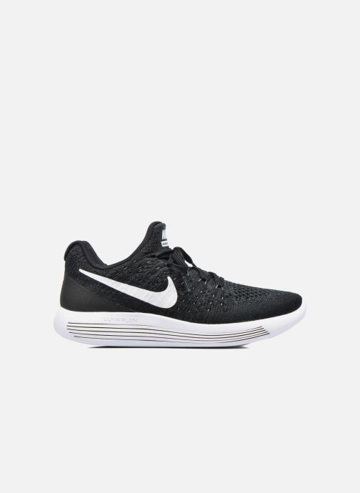 Chaussures de sport Nike W Nike Lunarepic Low Flyknit 2 Noir vue derrière