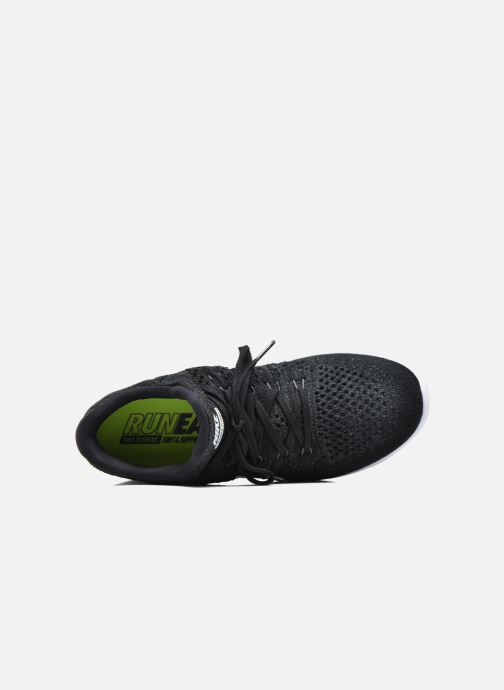 Chaussures de sport Nike W Nike Lunarepic Low Flyknit 2 Noir vue gauche