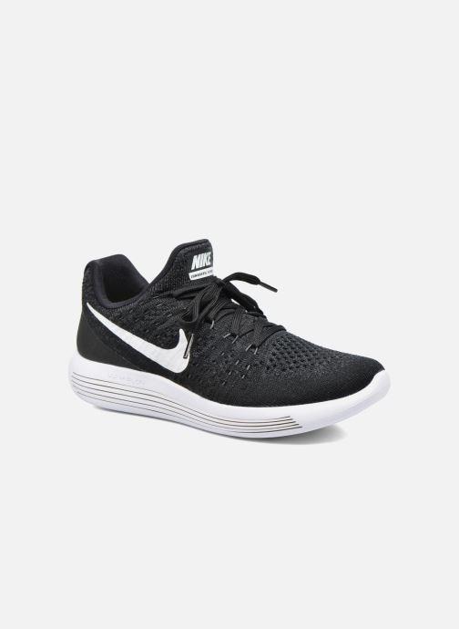 Zapatillas de deporte Nike W Nike Lunarepic Low Flyknit 2 Negro vista de detalle / par