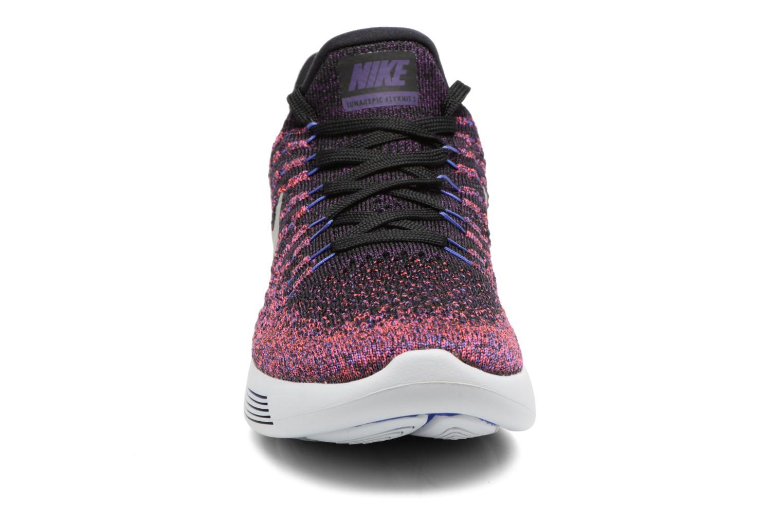 Chaussures de sport Nike W Nike Lunarepic Low Flyknit 2 Violet vue portées chaussures