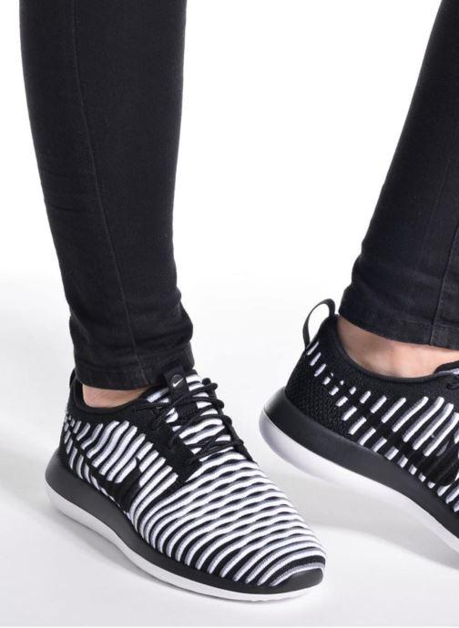 Sneakers Nike W Nike Roshe Two Flyknit Nero immagine dal basso