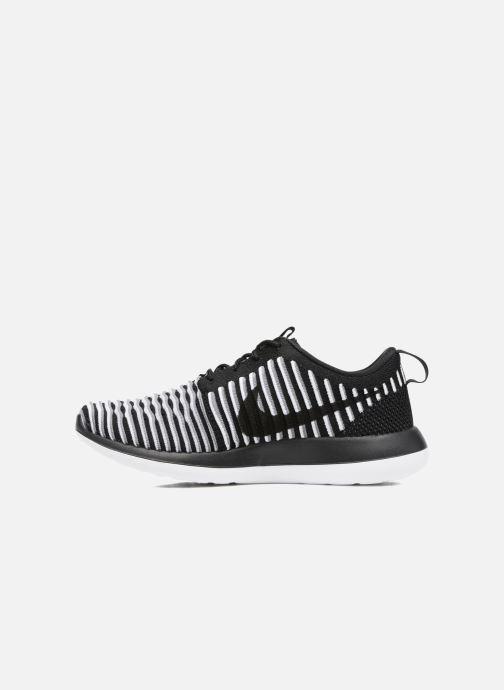 Baskets Nike W Nike Roshe Two Flyknit Noir vue face