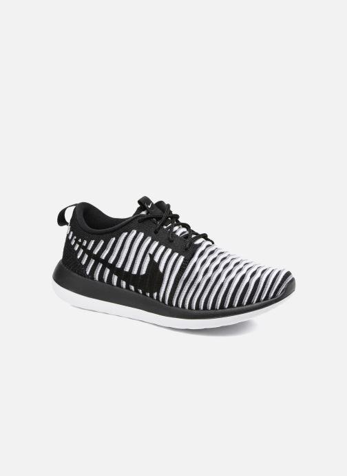 Deportivas Nike W Nike Roshe Two Flyknit Negro vista de detalle / par
