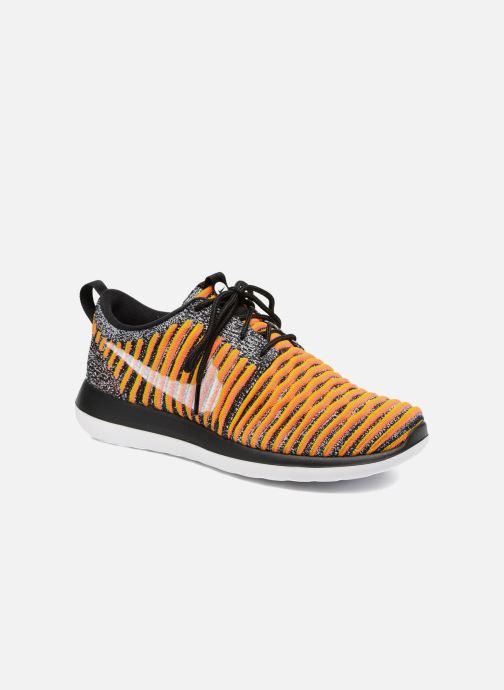 Nike Roshe white gold W bright Mango Lead Two Flyknit Black IWEDH29
