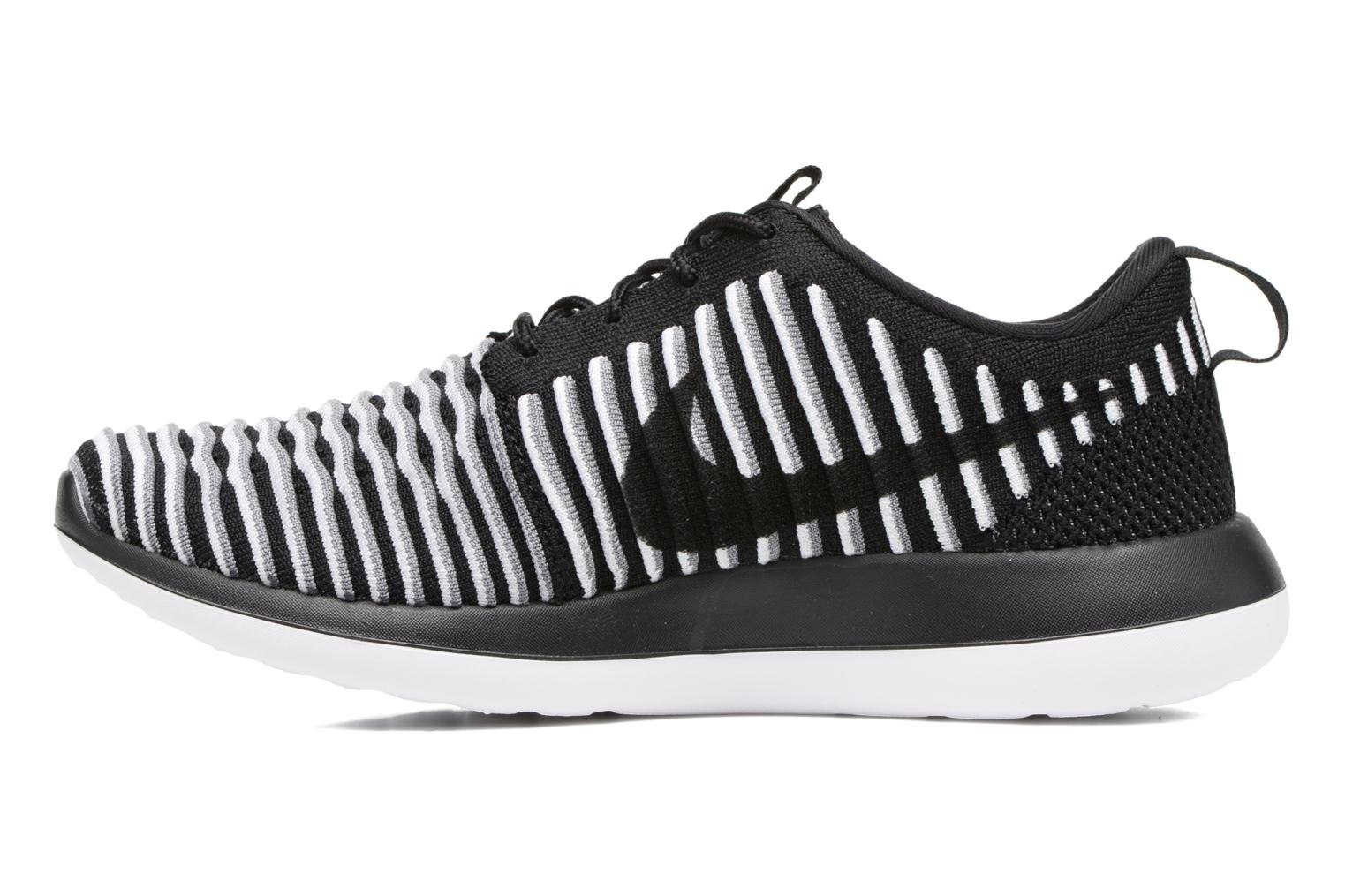 Trainers Nike W Nike Roshe Two Flyknit Black front view