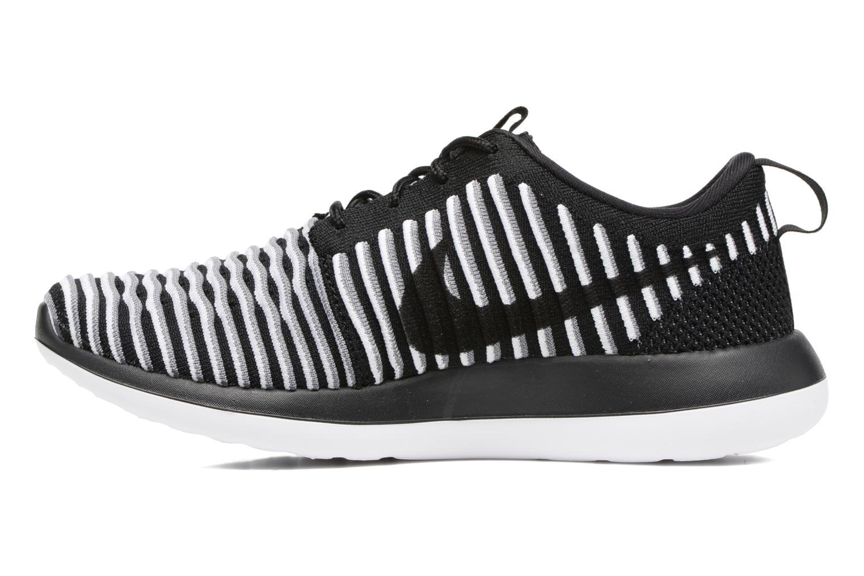 Sneakers Nike W Nike Roshe Two Flyknit Zwart voorkant