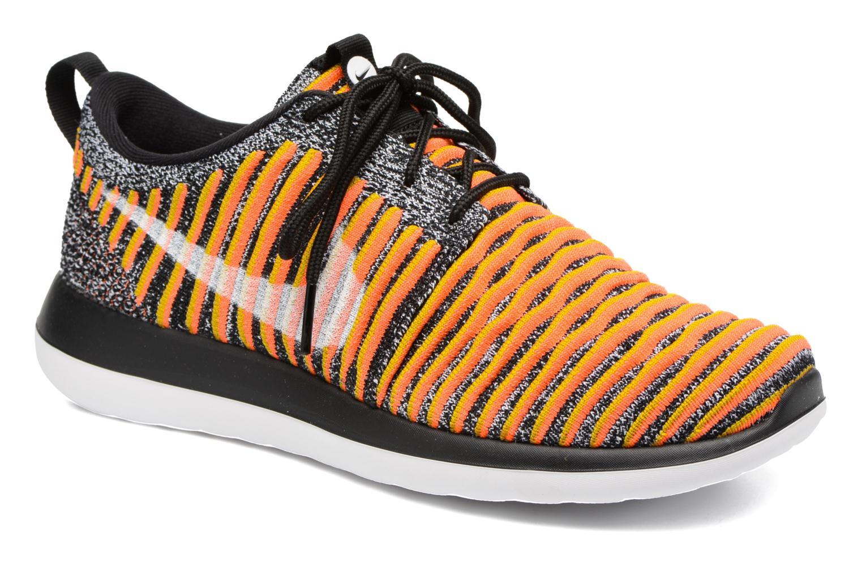 Sneakers Nike W Nike Roshe Two Flyknit Sort detaljeret billede af skoene