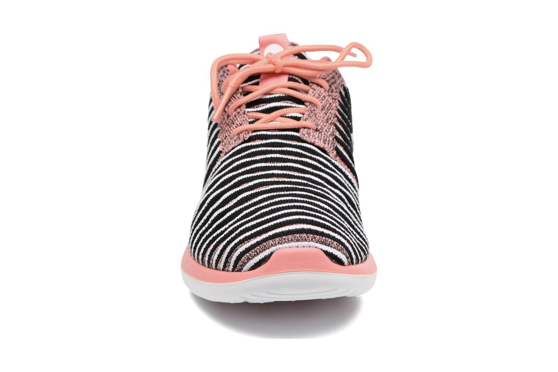 Sneaker Nike W Nike Roshe Two Flyknit orange schuhe getragen
