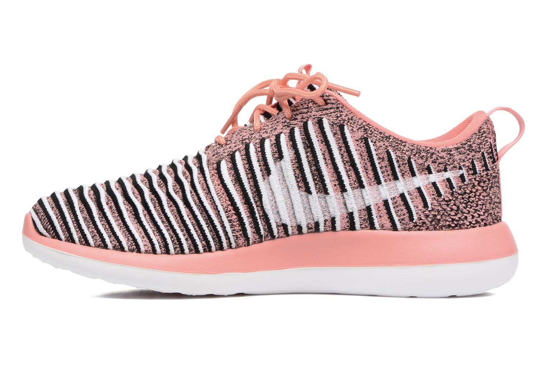 Sneaker Nike W Nike Roshe Two Flyknit orange ansicht von vorne