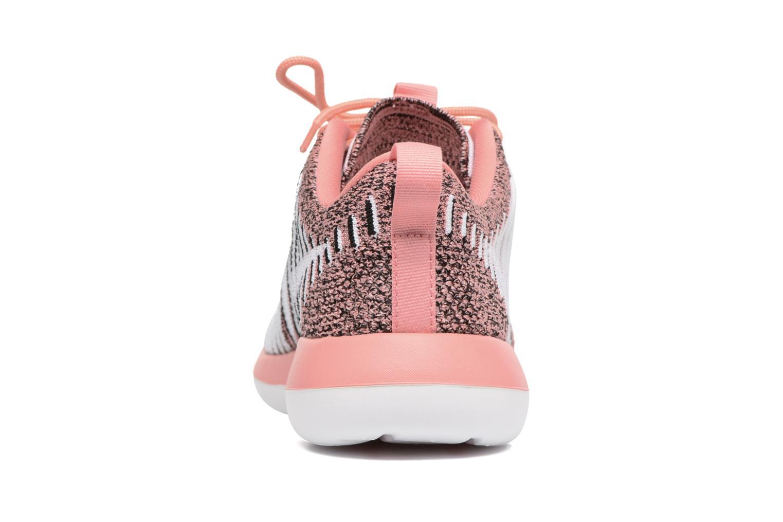 Sneaker Nike W Nike Roshe Two Flyknit orange ansicht von rechts