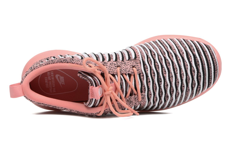 Sneaker Nike W Nike Roshe Two Flyknit orange ansicht von links