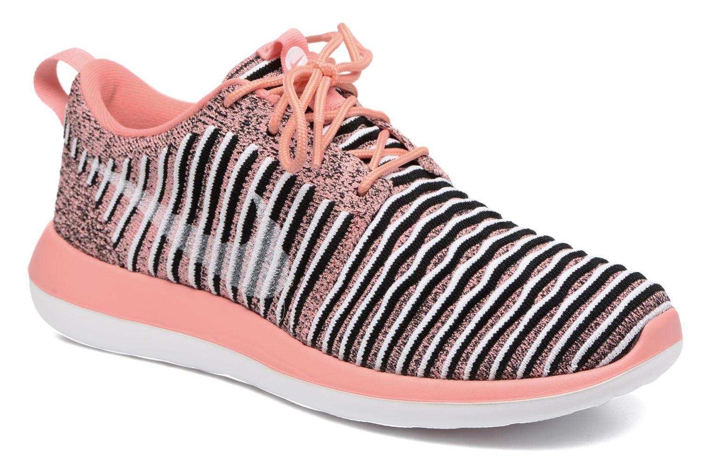 Sneaker Nike W Nike Roshe Two Flyknit orange detaillierte ansicht/modell