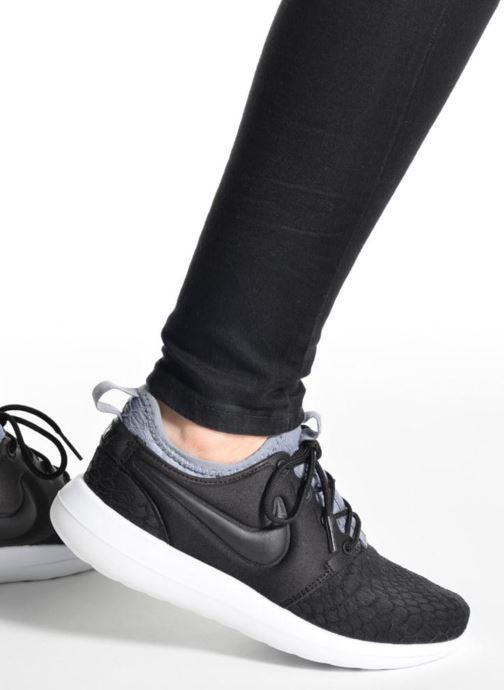 Deportivas Nike W Roshe Two Se Negro vista de abajo