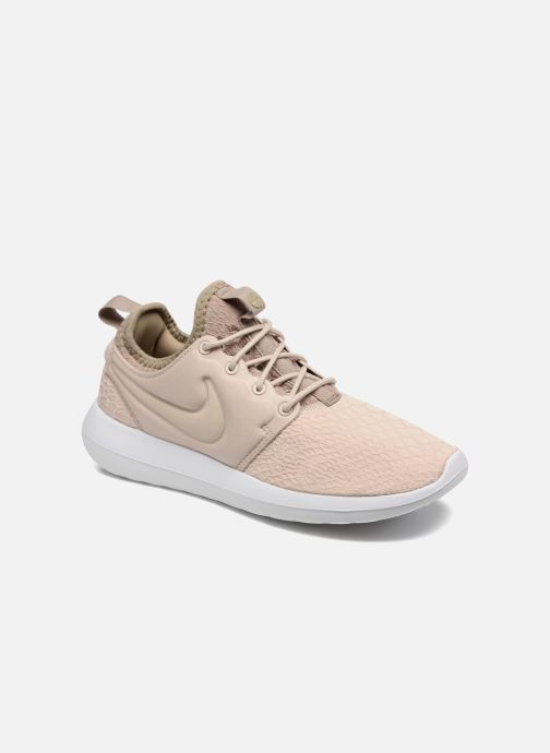 Baskets Nike W Roshe Two Se Beige vue détail/paire