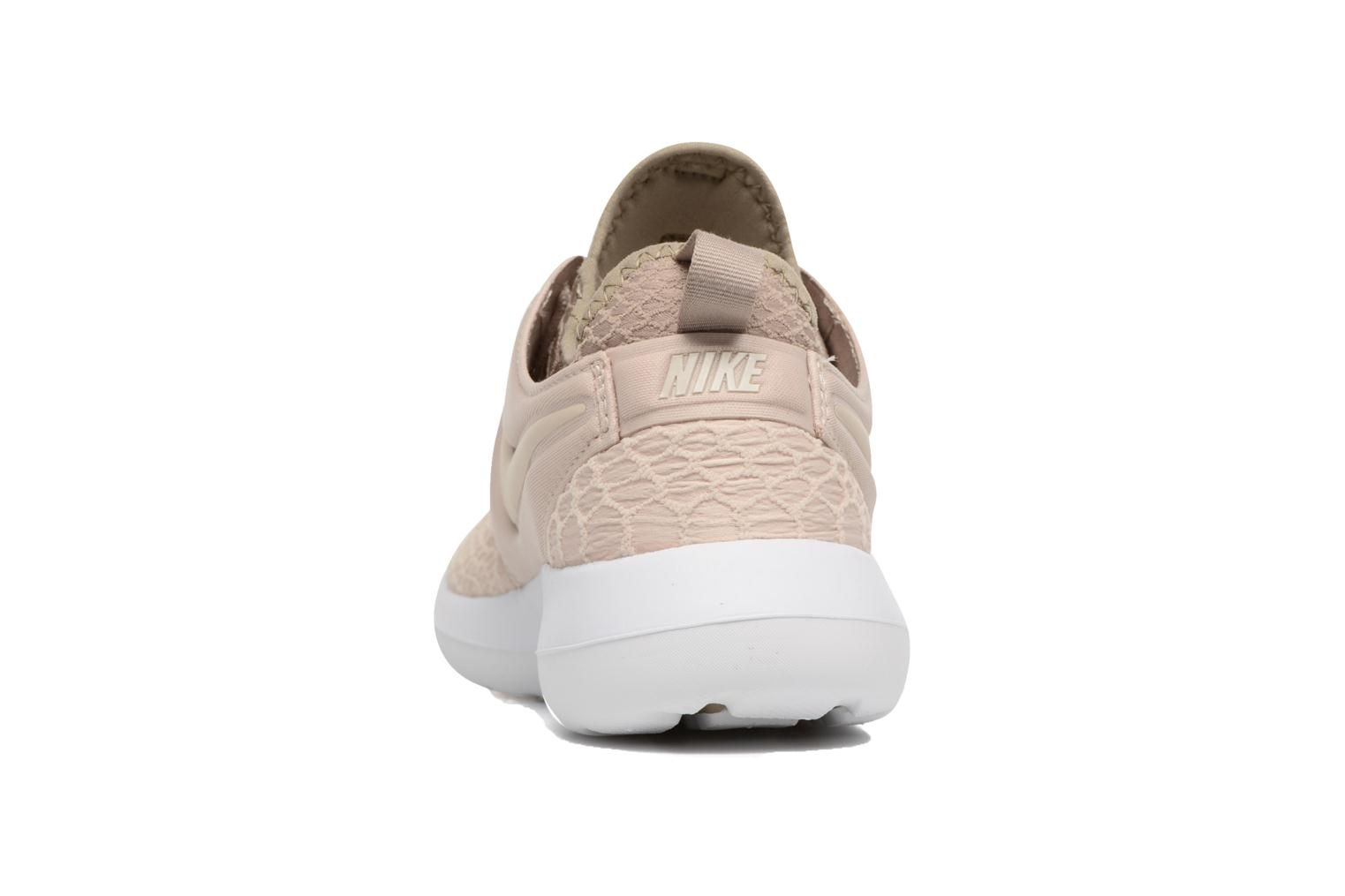Trainers Nike W Roshe Two Se Beige view from the right