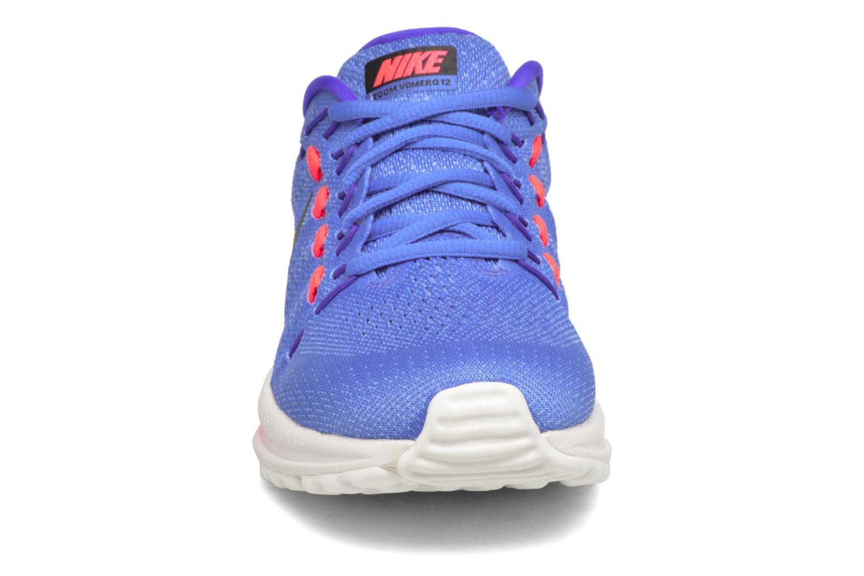 Scarpe sportive Nike Wmns Nike Air Zoom Vomero 12 Azzurro modello indossato