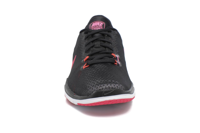 Chaussures de sport Nike Wmns Nike Flex Supreme Tr 5 Rose vue portées chaussures