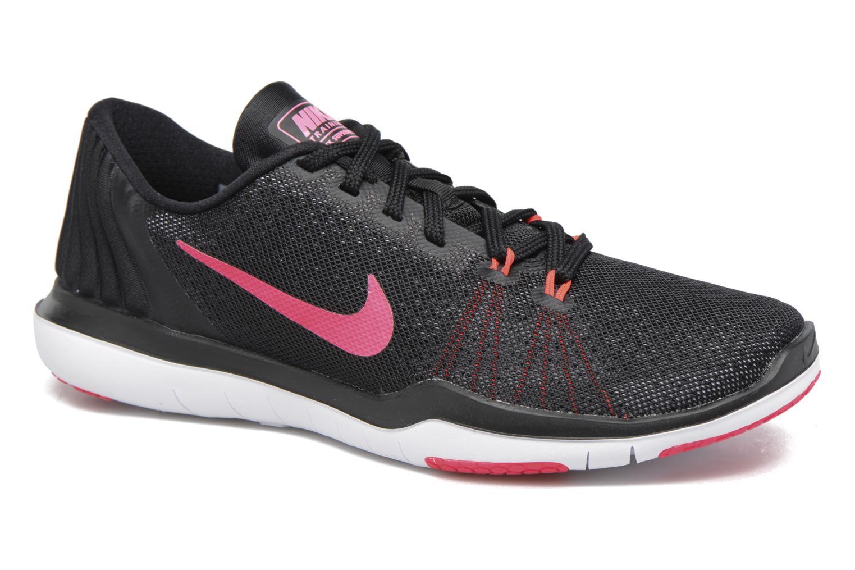 Chaussures de sport Nike Wmns Nike Flex Supreme Tr 5 Rose vue détail/paire