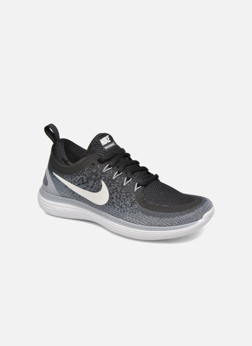 Sport shoes Nike Wmns Nike Free Rn Distance 2 Black detailed view  Pair view 773d215f9033d