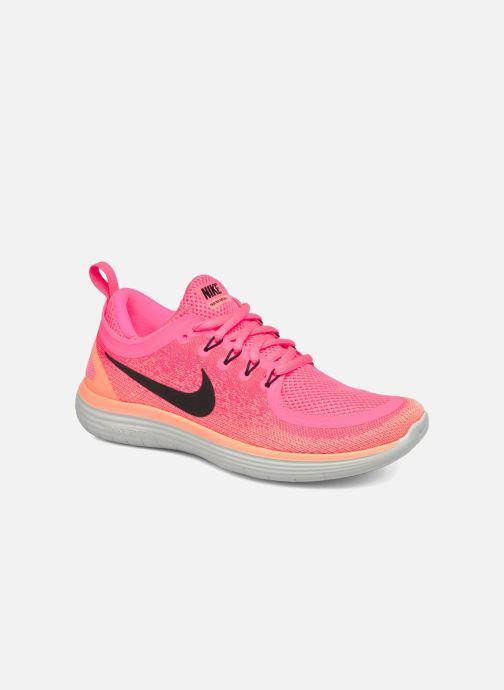 pretty nice a6422 6cee1 Chaussures de sport Nike Wmns Nike Free Rn Distance 2 Rose vue détail paire