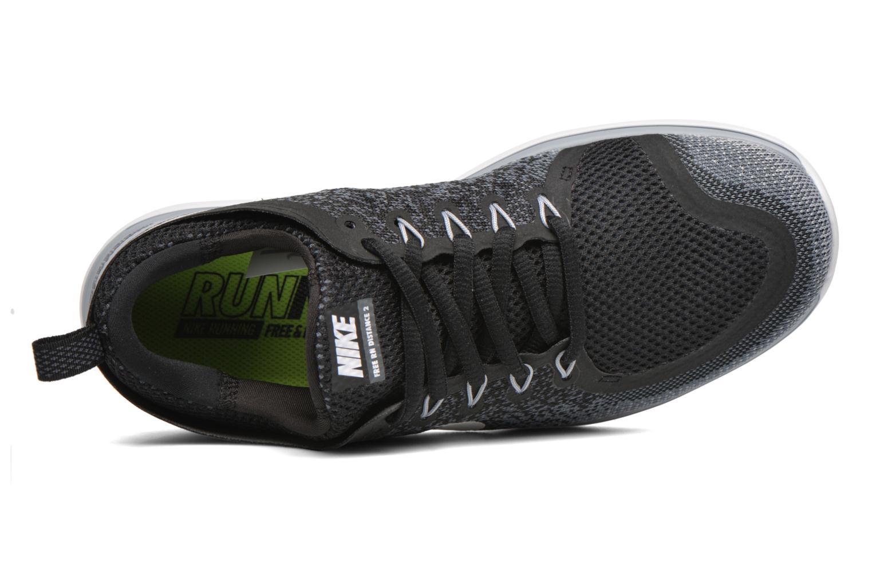Sportschuhe Nike Wmns Nike Free Rn Distance 2 schwarz ansicht von links