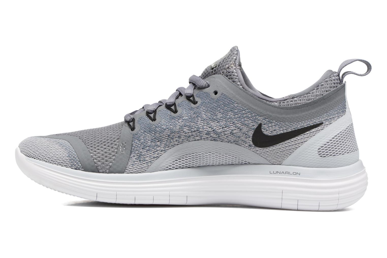 Chaussures de sport Nike Wmns Nike Free Rn Distance 2 Gris vue face